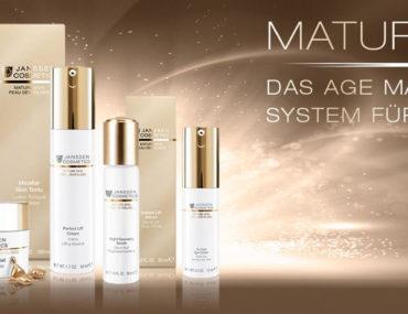 Die Pflegeserie Mature Skin von JANSSEN COSMETICS ist das neue Age Management System für ihre Haut, jetzt bei comsetic home in Osnabrück
